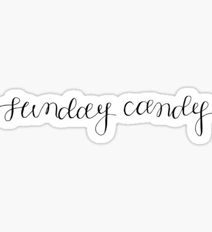 sunday candy Sticker