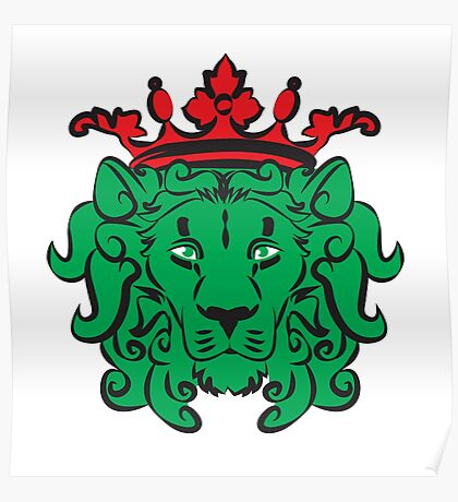 Coat of Arms - Royal Lion Poster