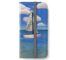 Day at sea  iPhone Wallet/Case/Skin