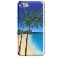 Two Palm Trees iPhone Case/Skin