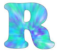 R-Tie Dye Photographic Print