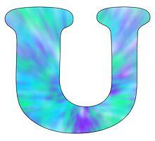 U-Tie Dye Photographic Print