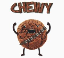 Chewy Chocolate Cookie Wookiee Kids Tee