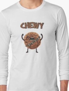 Chewy Chocolate Cookie Wookiee Long Sleeve T-Shirt