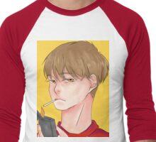 Cigarette Men's Baseball ¾ T-Shirt