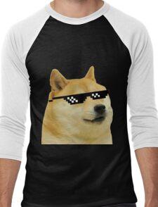 DOGE Men's Baseball ¾ T-Shirt