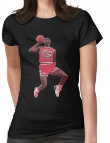 Michael Jordan Womens Fitted T-Shirt