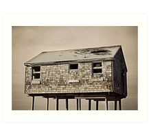 The Old Mulford House 2 Art Print