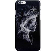 native american medicine man. (black) iPhone Case/Skin