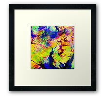 Shipwrecked In Colour Framed Print