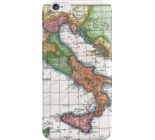 Vintage Map of Italy (1780) iPhone Case/Skin