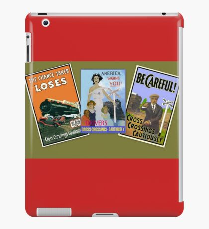 Railroad Safety iPad Case/Skin