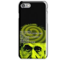 Albert Einstein Inspiration Quote iPhone Case/Skin