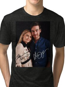 Colin & Jennifer - Once Upon A Time Tri-blend T-Shirt