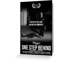 One Step Behind - Official Grand Junction Poster Greeting Card