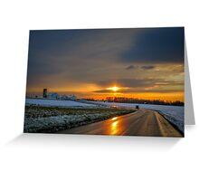 December Dawn Greeting Card
