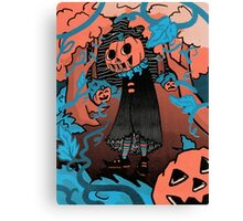 Halloween screen print  Canvas Print