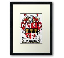 O'Murphy Coat of Arms (Cork) Framed Print