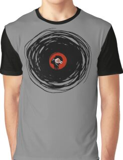 I'm spinning within with a vinyl record... Graphic T-Shirt
