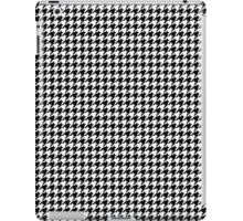 Houndstooth Traditional Small iPad Case/Skin