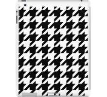 Houndstooth Traditional iPad Case/Skin