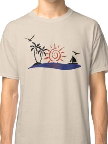 Hawaii Sunset Classic T-Shirt