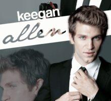 Keegan Allen Sticker