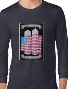 9/11 Twin Towers Long Sleeve T-Shirt