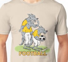 Dog_Football Unisex T-Shirt