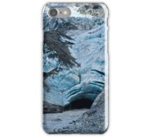 Hiking across the Ice iPhone Case/Skin