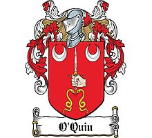 O'Quin Coat of Arms (Clare) Photographic Print