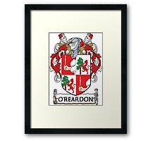 O'Reardon Coat of Arms (Cork) Framed Print