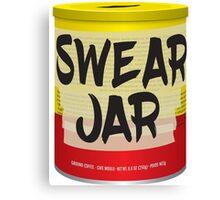 Pops Swear Jar Canvas Print