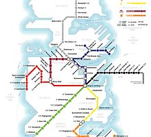 Game of Thrones - Metroros System Map by mehmetikberker