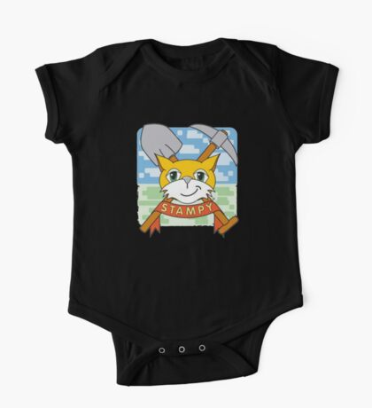 Stampy Cat One Piece - Short Sleeve