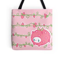 Strawberry Binky Tote Bag