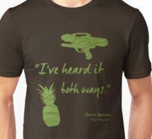 I've heard it both ways. Unisex T-Shirt