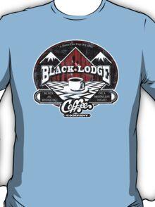 Black Lodge Coffee Company (distressed) T-Shirt