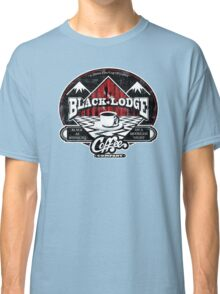 Black Lodge Coffee Company (distressed) Classic T-Shirt