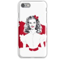 Scarlett Screen Test iPhone Case/Skin