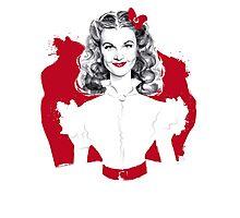 Scarlett Screen Test Photographic Print