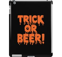 Trick or Beer iPad Case/Skin