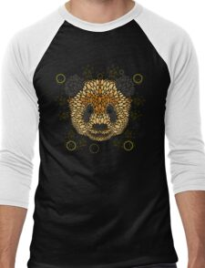 Panda Face Men's Baseball ¾ T-Shirt