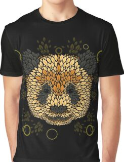 Panda Face Graphic T-Shirt