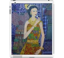 painting of a balinese woman  iPad Case/Skin