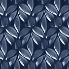 Blue leaves design for cases  ( 2150 Views) by aldona