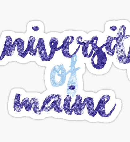 University of Maine 2 Sticker