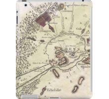 Vintage Map of Athens (1784)  iPad Case/Skin