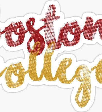 Boston College 2 Sticker