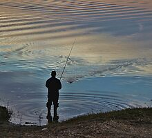 Evening Catch by Gilda Axelrod